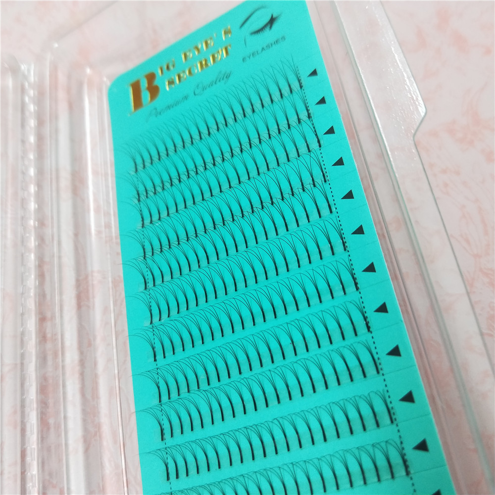 wholesale 0.07 volume lashes 3d Faux Mink lashes eyelash extensions Russian Volume Eyelashes Extension free shipping