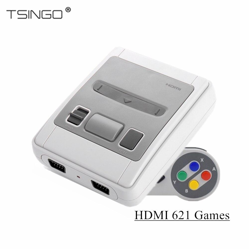 Dikdoc 8Bit intégré 621 jeux Super Mini famille TV Console de jeu vidéo sortie HDMI rétro classique lecteur de jeu portable enfants cadeau