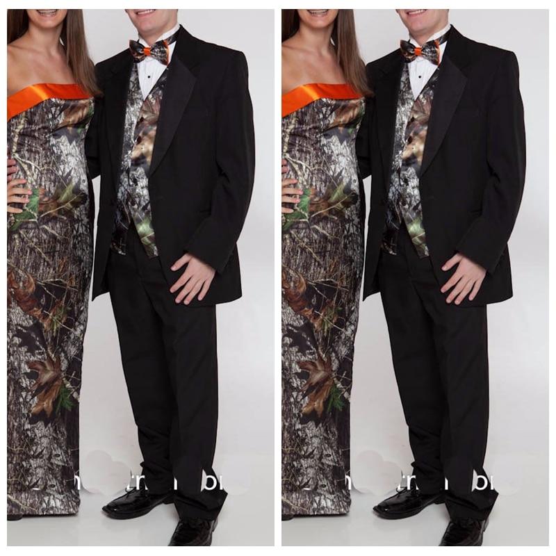 Top Sale Camo Tuxedos Unique Amazing Camouflage Men Wedding Suits ...