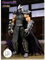 First Gokin Alloy Ninja Turtles Villain Boss Utrom Shredder Action Figure Model Toy Include Weapons 9.5inch