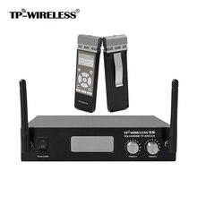 TP-WIRELESS 2 Channel 2.4 GHz Handheld Digital familyl reunião Sistema de Microfone Sem Fio Mic Sistema de MICROFONE Portátil