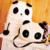 2015 Nuevos Bolsos de Las Mujeres Populares Encantadora Panda Bolso de Escuela Mujeres Mochila Cómoda Ocasional Mujeres WXSY08735