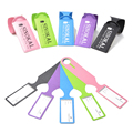 Travel Luggage Tags Travel Fashion Suitcase Lable PU Leather Portable Baggage Tag Lable ID/Address Travel Accessories