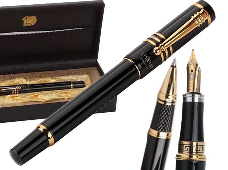 8pcs/lot Gel RollerBall pen / Fountain pen  Original gift box HERO 608 sign pen  office and school stationery Free  Shipping 8pcs lot wholesale fountain pen black m 14 k solid gold nib or rollerball pen picasso 89 big executive stationery free shipping