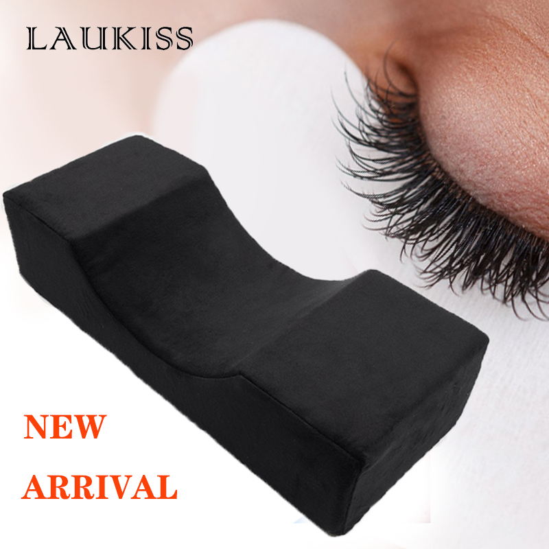 Professional Eyelash Extension Pillow Soft Grafted Eyelashes Flannel Pillows For Beauty Salon Use Headrest Neck Support