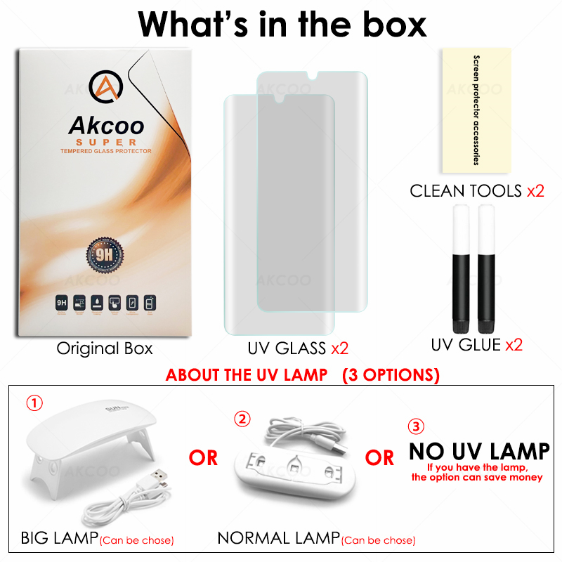 Image 5 - Akcoo P30 pro screen protector support fingerprint sensor glass for Huawei P30  case friendly tempered glass for p30 lite film-in Phone Screen Protectors from Cellphones & Telecommunications