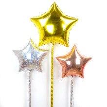 1pcs 10*100cm DIY Ribbons coloful balloon Gold/Silver tassel wedding birthday party decoration New year decor accessory