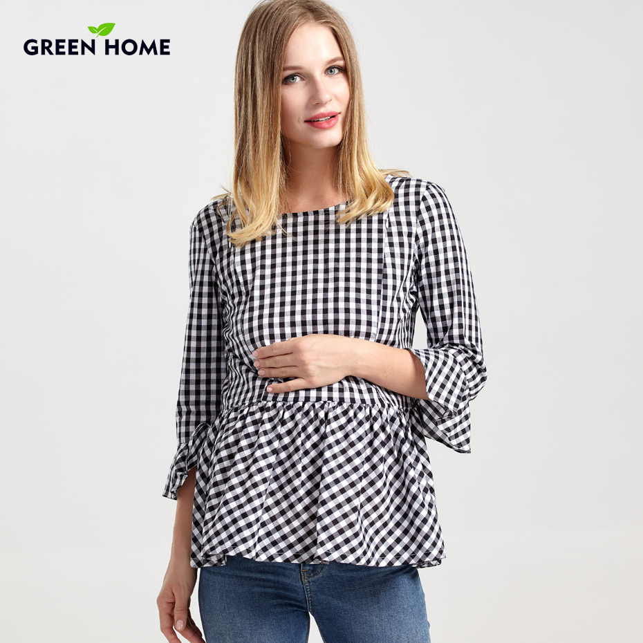 Green Home Winter Maternity Clothing Thi