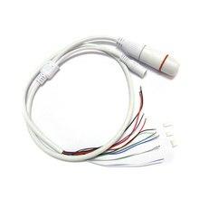 Weatherpoof CCTV IP сеть камера PCB модуль видео питание конец кабель RJ45 гнездо +% 26 DC штекер разъемы с терминалами