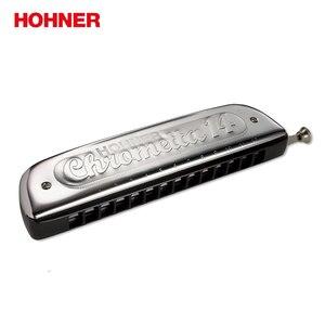 Image 4 - Hohner 257 14穴クロマチックハープchrometta 14ハーモニカ、キーのcメジャー