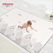 New XPE Baby Crawling Mat 180*200cm Thick 2CM Baby Children Foam Mat Game Pad Environmental Protection Custom Real High Quality