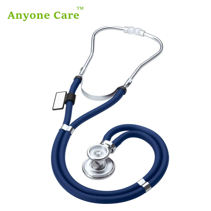 European Quality Multifunctional stethoscope Professional lengthen double tube fetal sound medical stethoscope health care professional medical double headed stethoscope doctor use stethoscope