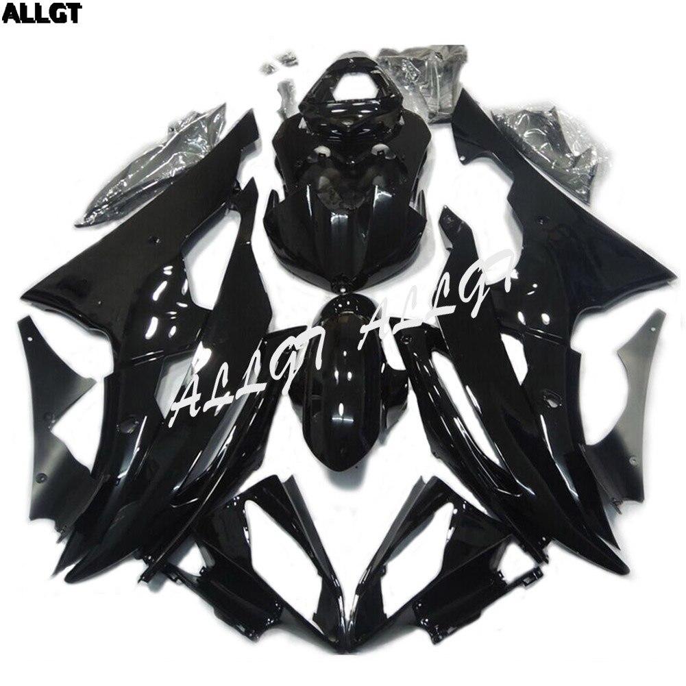 Нам продать ABS глянцевый черный обтекатель комплект Краски Кузов для Yamaha YZF R6 2008 2009 2010 2011 2012 2013