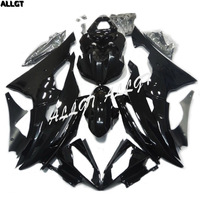 US SELL ABS Glossy Black Fairing kit Paint Bodywork for YAMAHA YZF R6 2008 2009 2010 2011 2012 2013
