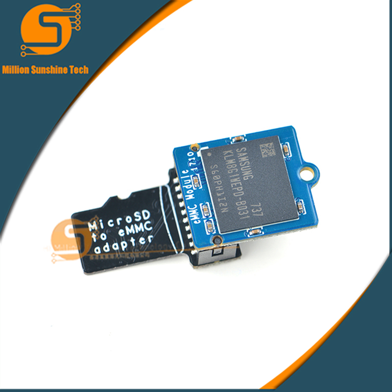 US $19 8 |EMMC module 8GB with microSD turn eMMC adapter free shipping-in  Demo Board Accessories from Computer & Office on Aliexpress com | Alibaba