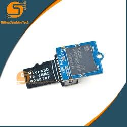 Módulo emmc 8 gb com microsd turn emmc adaptador frete grátis