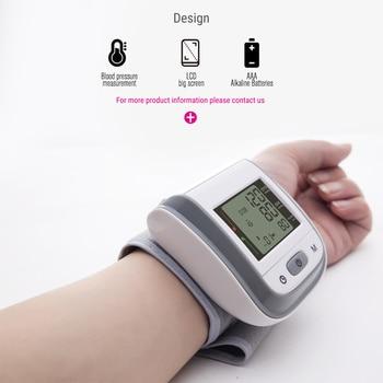 BOXYM Medical Digital Wrist Blood Pressure Monitor Sphygmomanometer Finger Pulse Oximeter SpO2 Saturation Meter Family Health 6