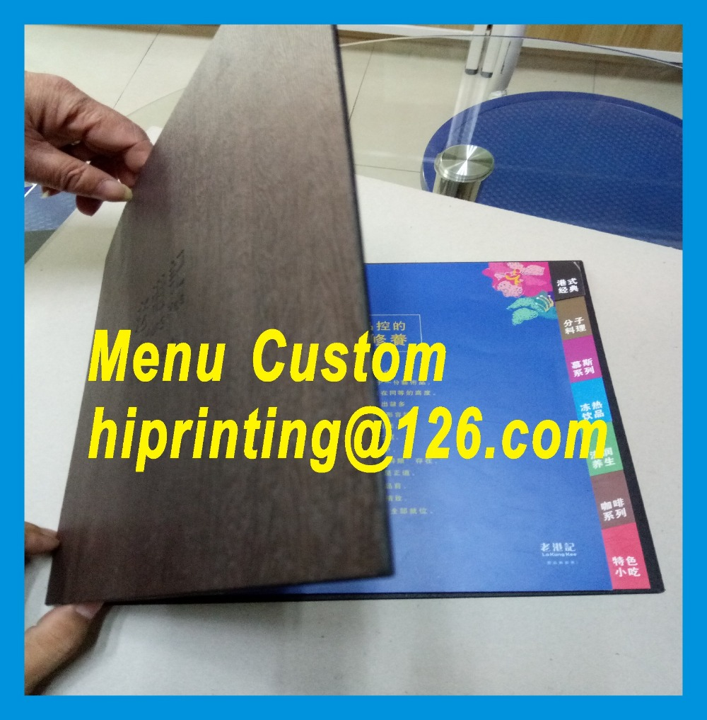 Colorful printing paper hotel  menu cardsColorful printing paper hotel  menu cards
