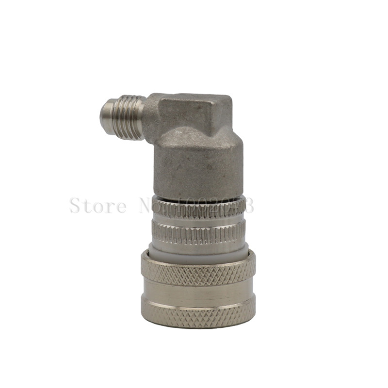 Stainless Steel Ball Lock Keg Connector Fittings, Gas Liquid Quick Disconnect Beer Dispenser Home Brew (9)
