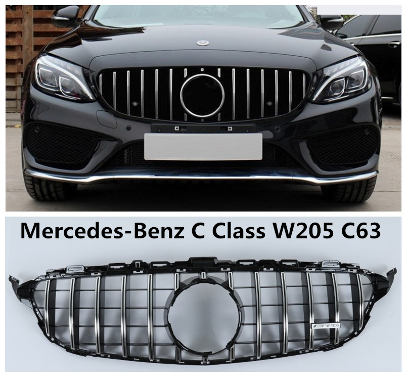Auto Grille Racing Grills For Mercedes Benz C Class W205