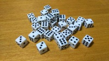 Free shipping 10pcs 6-sided dice 10mm white with black pips dice for boardgame/cardgame and other games accessories