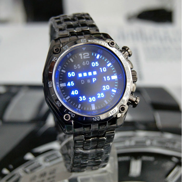 2016-Hot-TVG-Men-Digital-Watch-Stainless-Steel-Strap-LED-Light-Round-Case-Water-Resistent-Night1