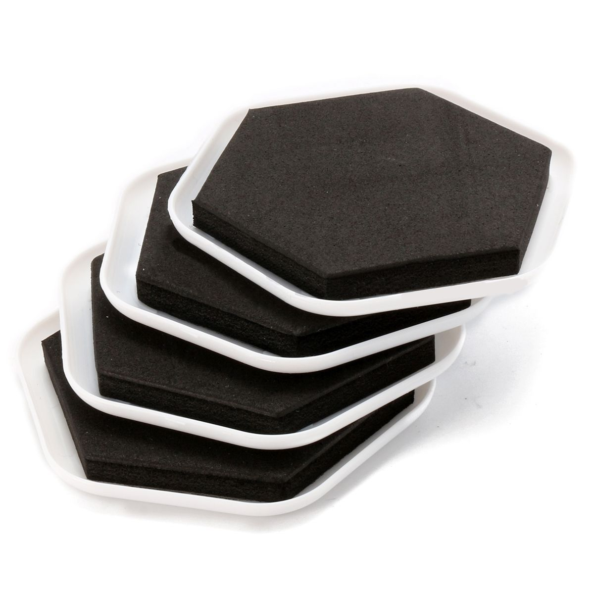 4Pcs Heavy Duty Furniture Moving Pad Home Moving Helper Floor Protectors 3.5cm/1.38 for Easy Moving Accessories