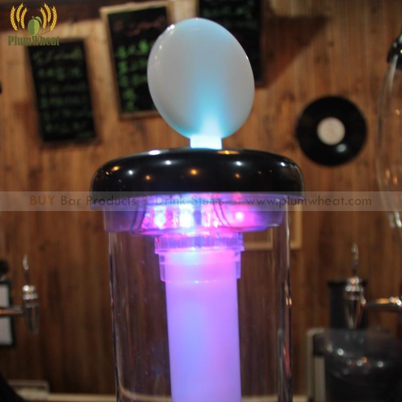 얼음 튜브 btb6g와 2.2 리터 주사위 게임 led 맥주 타워 디스펜서-에서기타 바 액세서리부터 홈 & 가든 의  그룹 2