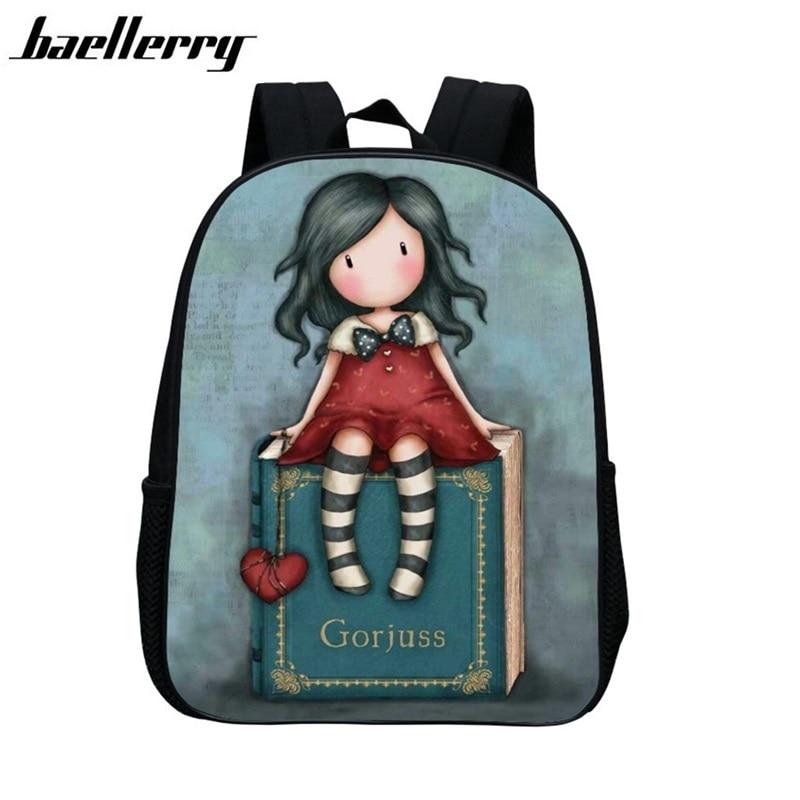 Waterproof 3D Cartoon Children School Bags For Girls Boys Children Backpacks Kindergarten Book Bag Kids Bag Mochila Escolar H028 цена 2016