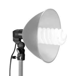 Image 2 - Single Head Bulb Holder E27 Socket Flash Umbrella Bracket Photo Lighting Bulb Holder For Photography Studio Accessories