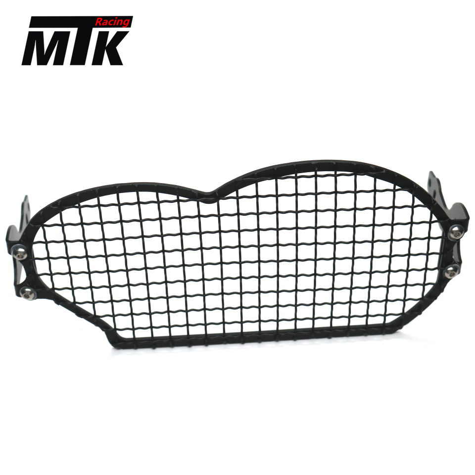 MTKRACING Motorcycle accessories For BMW R1200GS R 1200 GS 2004-2012 Grille Headlight Protector Guard Lense Cover mtkracing motorcycle accessories headlight grille guard cover for honda cb500x cb 500x 2016 2017