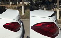 Углерода Волокно сзади spolier крыла cover1pcs для Mercedes Benz C Class w205 2015 2014