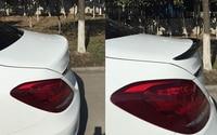 Carbon Fiber Rear Spolier Wing cover1pcs For Mercedes Benz C class w205 2015 2014