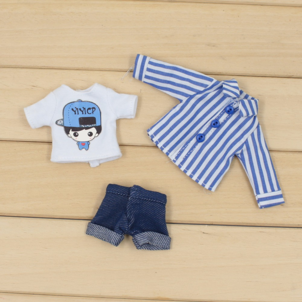 Middie Blythe Doll T-Shirt Short Pants Outfit 1