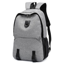 Mens Women Laptop Backpack 15.6 Inch Book Bags External Usb Charge Bagpack College Students School Back Pack Rugtas Mochila 2019(China)