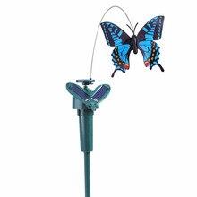 Home Garden Solar Light Simulation Butterfly Solar Power Dan