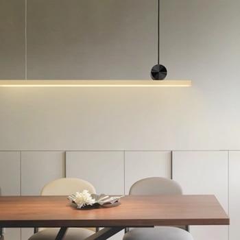 LukLoy Lange Anhänger Lichter LED Küche Lichter LED Lampe Moderne Designer  Hängen Lampe Decke Lampen Wohnzimmer Leuchten