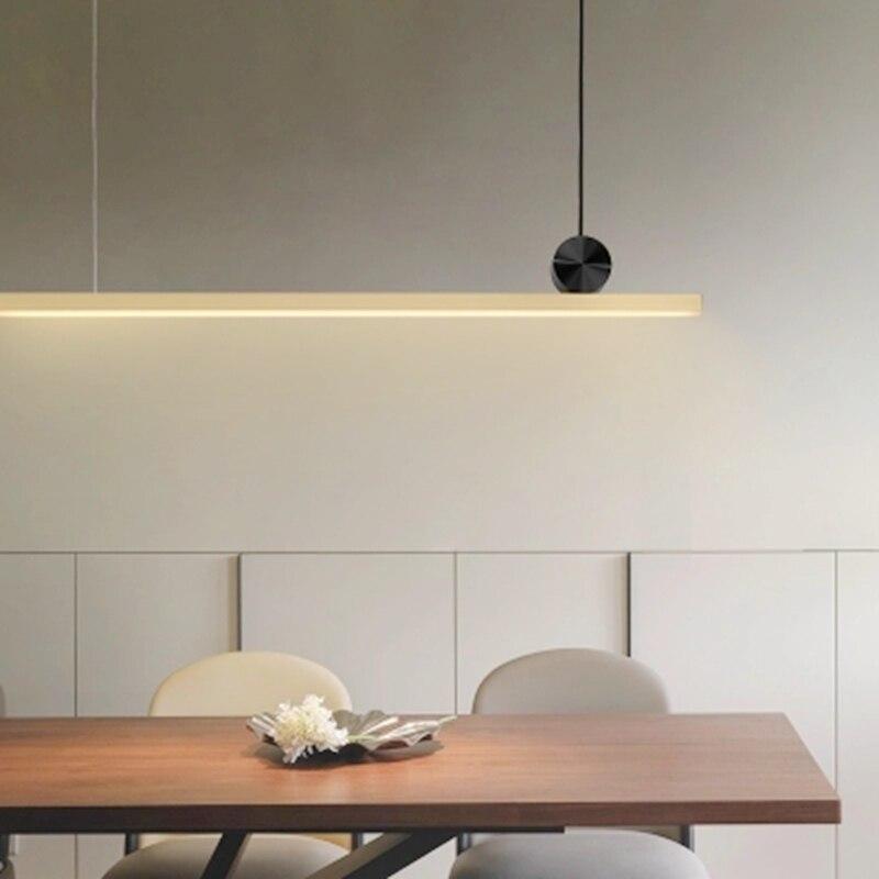 LukLoy Long Pendant Lights LED Kitchen Lights LED Lamp ...