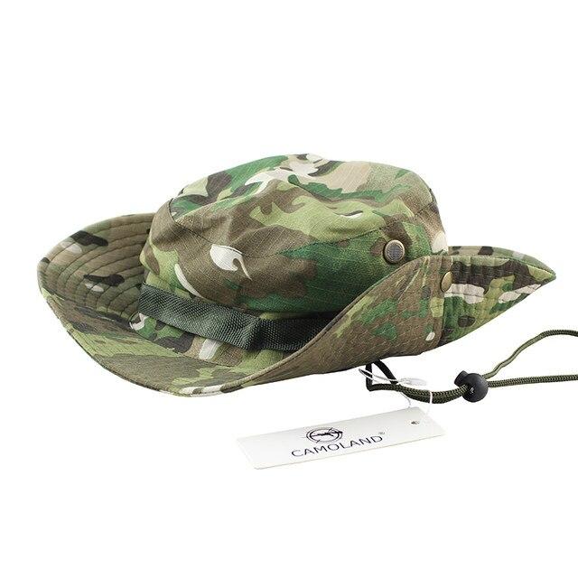 a8cc70e0eecce Cores Tactical Airsoft Sniper Camuflagem Boonie Chapéus Cap Nepalês 6  Militares Do Exército Dos Homens Chapéu de Balde Acessórios Militares do  Sexo ...