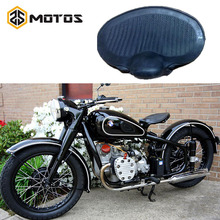 ZS MOTOS Retro style rubber CJ-K750 side car motor case for BMW  R1 R71 M1 M72 MW 750 Ural Seat foreskin