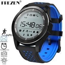 FREZEN F3 Luminous Sport Smart Watch Altitude Meter Thermometer IP68 Waterproof Pedometer Smartwatch for IOS Android Stopwatch