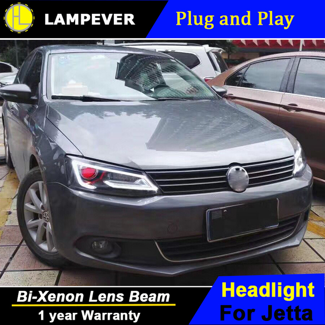 Lampever Head Lamp For Vw Jetta Mk6 2017 Headlights Led Light Bar Of Audi