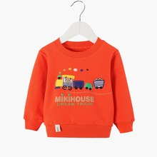 New Baby Girls; 셔츠 Winter 봄 가 Sweater 긴 Sleeve T-shirt Character Kids 옷 Gray Boys Sweatshirt 12M3T6T(China)