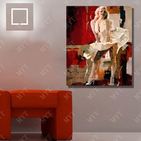 Sexy Marilyn Monroe Oil Painting Home Decoration Living Room Wall Hand Painted Wall Art Canvas Painting