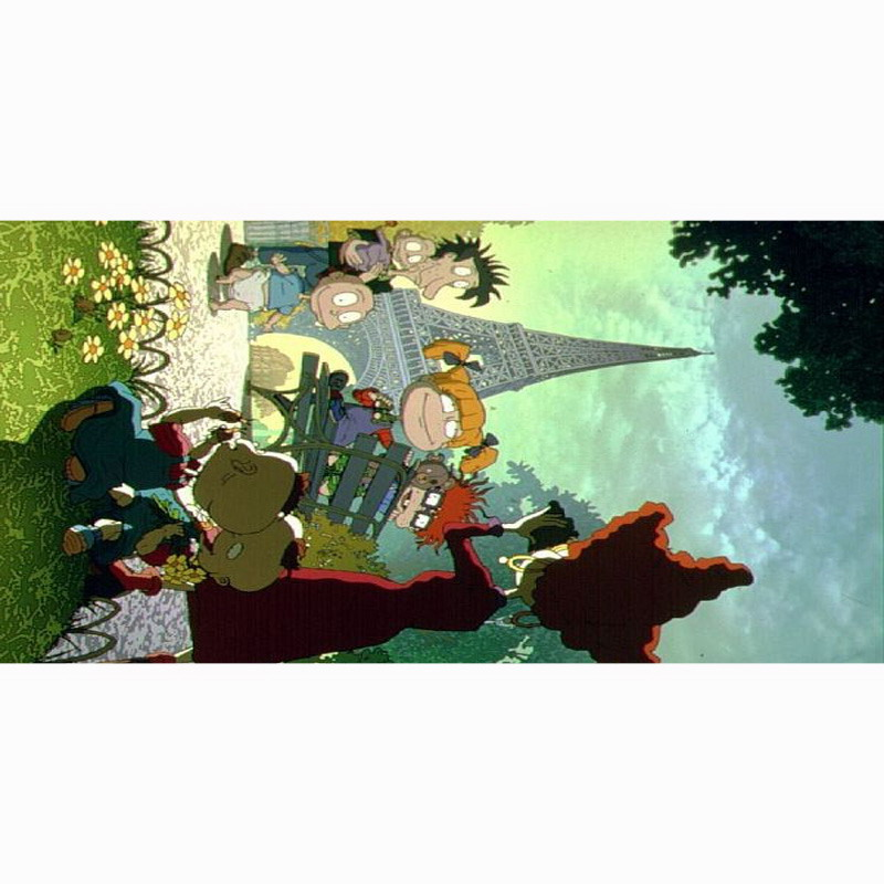 Us 25 19 40 Off New Summer The Rugrats Movie Beach Towel Fashion Bath Towels 100 Bamboo Fiber Swimming Soft Travel Blanket 70 140cm In