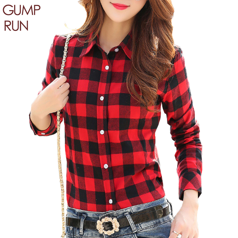 Online buy wholesale women flannel shirt from china women for Buy plaid shirts online