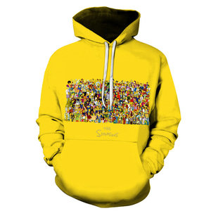 3D printing hoodies Simpson/beer /Dragon Ball /skull/ Clown and other series men / women autumn and winter sweatshirt hoo