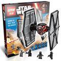562 unids bela nueva 05005 star wars de primer orden de las fuerzas especiales de caza tie bloques de construcción de juguetes compatible con lego