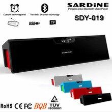 Sardine SDY-019 Wireless Bluetooth Portable Speaker HIFI 10w USB Amplifier Stereo Sound Bars Box with mic FM Radio for iPhone