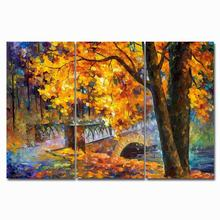 poster monet pictures Abstract Poster and Prints  Red maple oil painting Wall Art canvas Modular on Canvas For Living Room